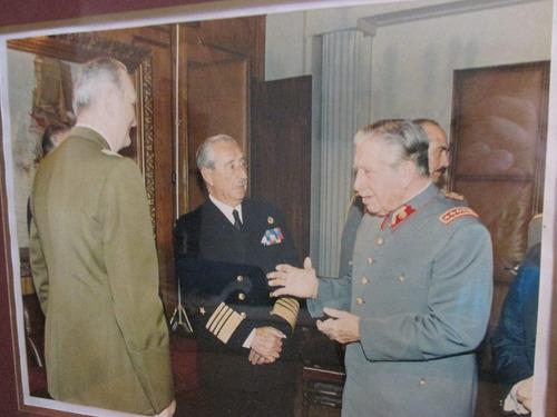 antigua foto gral pinochet junta militar gobierno año 1989
