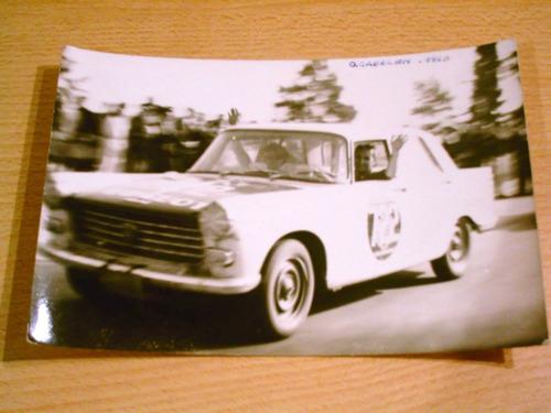 antigua foto oscar cabalen peugeot 404 año 1963