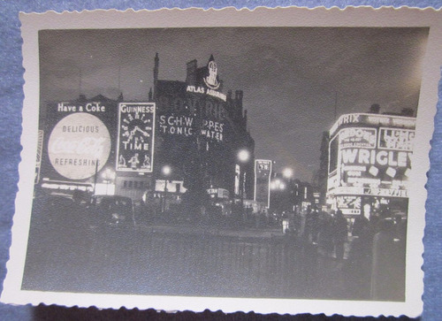 antigua foto piccadilly circus londres.