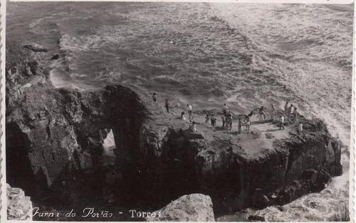 antigua foto postal furnas do portao playa torres brasil