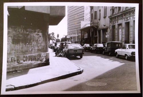 antigua fotografia banco hipotecario uruguay 1980