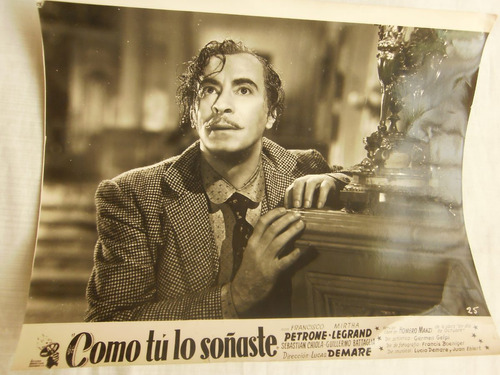 antigua fotografia de cine como tu lo soñaste f petrone