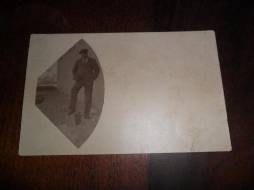 antigua fotografia foto efecto visual fotografico caballero