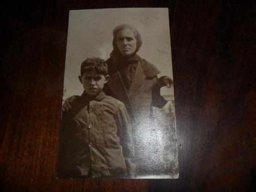 antigua fotografia foto madre e hijo