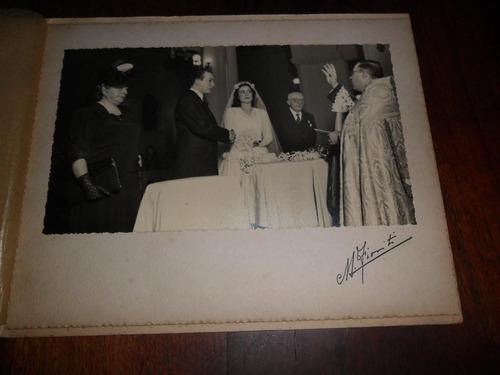 antigua fotografia m fioriti casamiento novio foto familia
