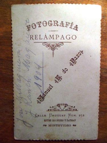 antigua fotografia manuel f. do pazo 1904