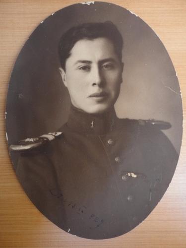 antigua fotografía militar