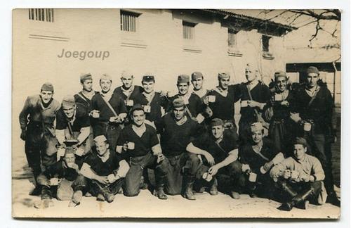 antigua fotografia militar soldados ejercito argentino