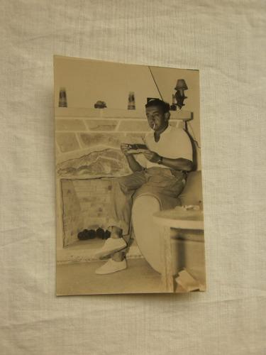 antigua fotografia original nathan pinzon año 1951 9x14