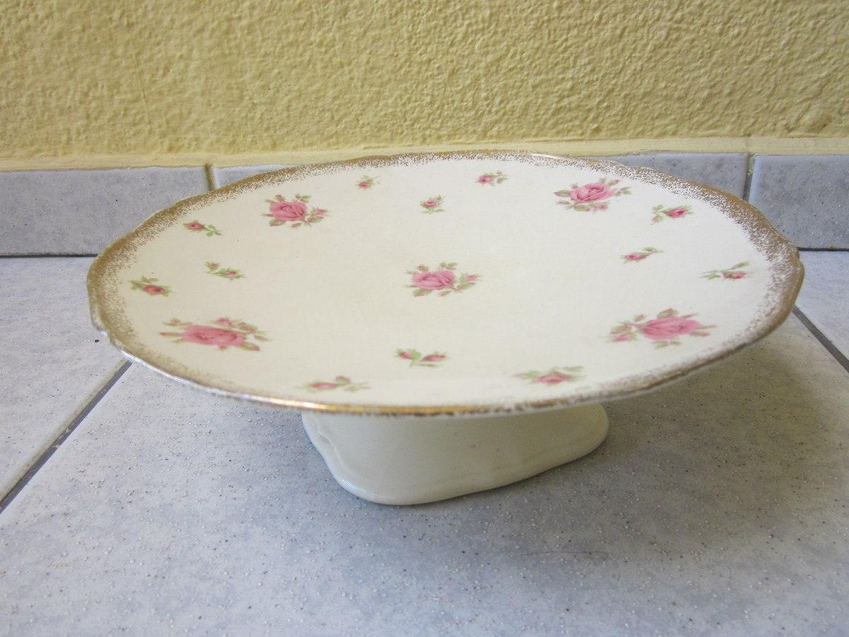 Antigua frutera porcelana inglesa dise o flores 1940 for Porcelana en ingles