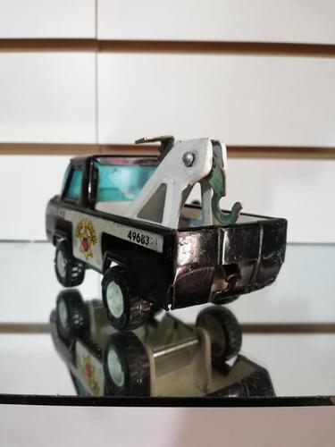 antigua grua juguete buddy japan en hojalata retro