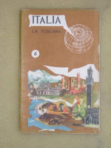 antigua guia de italia-la toscana.