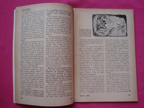 antigua guia educativa sexual  revista luz n° 10 oct 1965