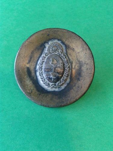 antigua hebilla de cinturón de soldado del ejército nacional