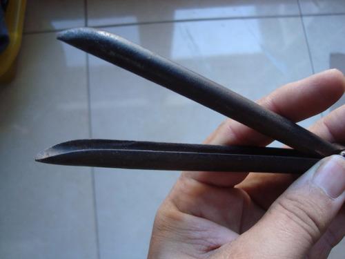 antigua herramienta sellada para el pelo? bucle?