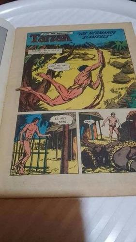 antigua historieta de tarzan para coleccionistas