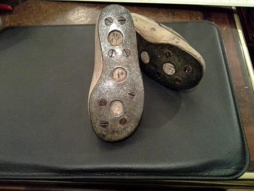 antigua horma de madera  para zapato de niño c 1900