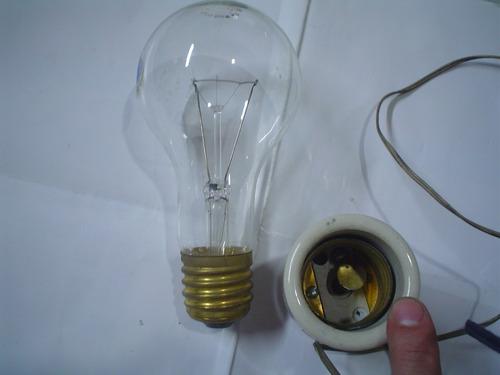 antigua iluminacion lampara culote porcelana sica farol