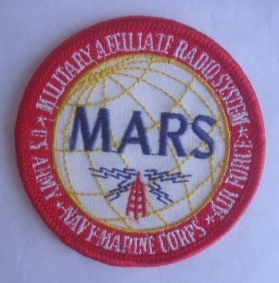 antigua insignia sistema de radio auxiliar militar usa (10v)