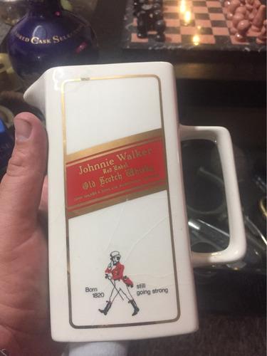 antigua jarra de whisky de colección