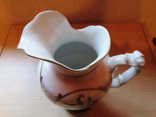 antigua jarra porcelana mapo con base