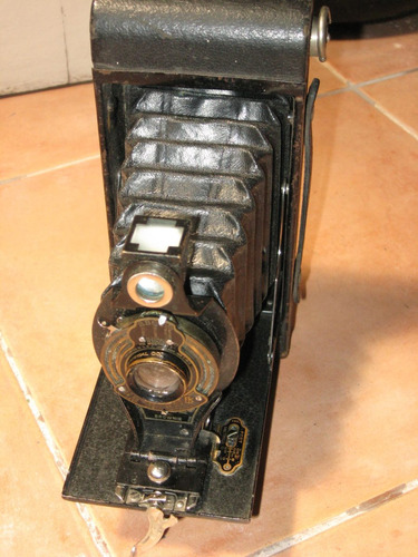 antigua kodak autographic brownie a116-funcionando #100