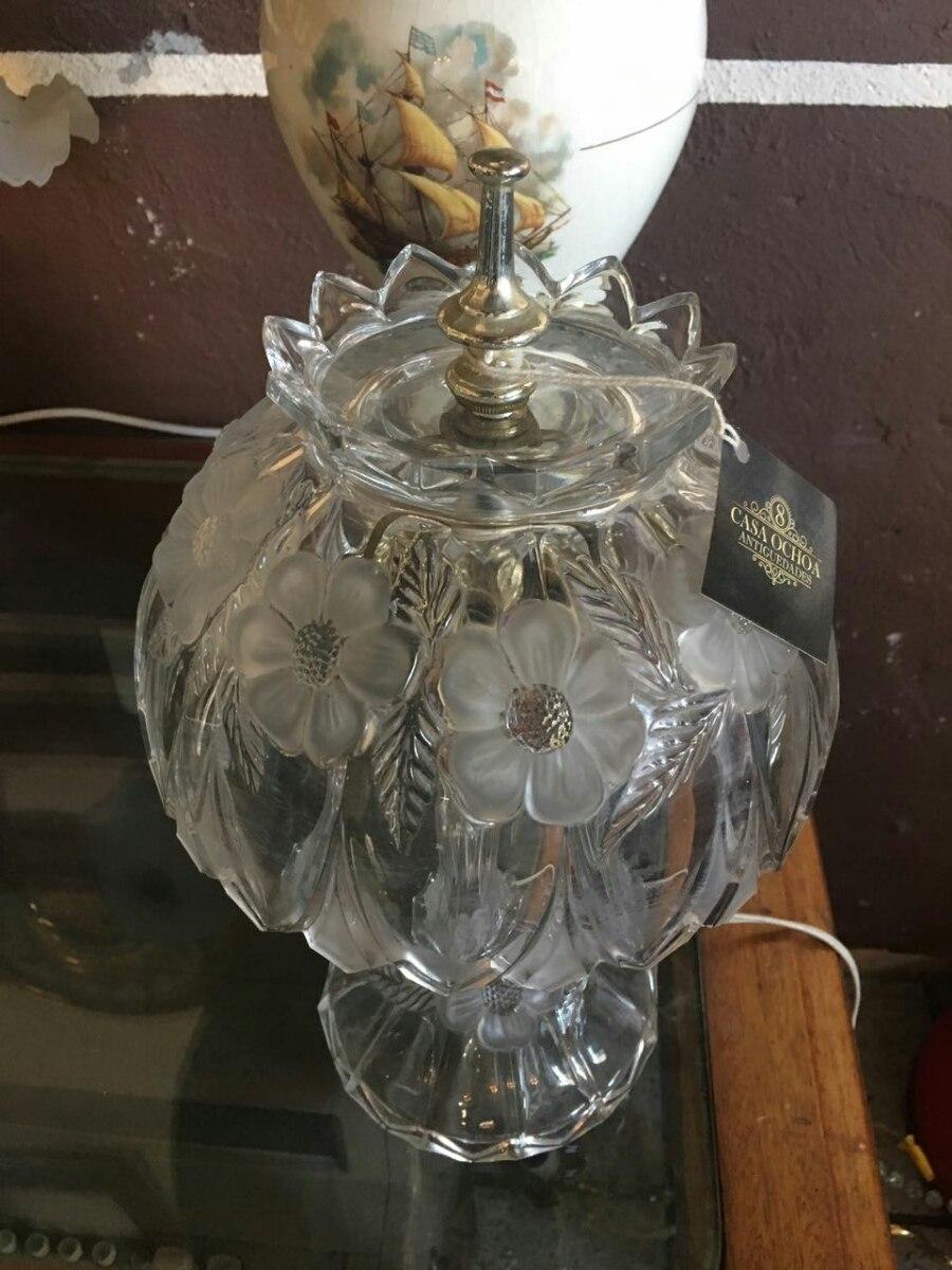 Antigua lampara de cristal cortado 1 en - Lamparas de cristal antiguas ...
