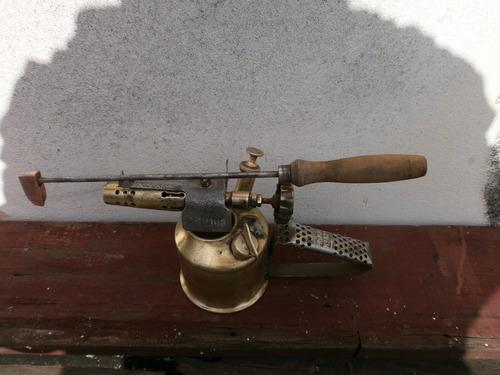 antigua lampara para soldar c/mart/cobre ver foto