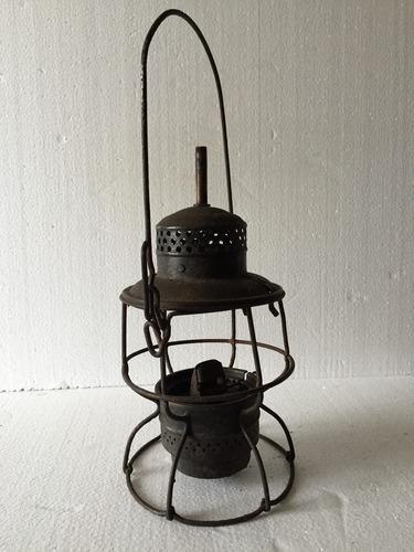 antigua lampara sellada sin la tulipa