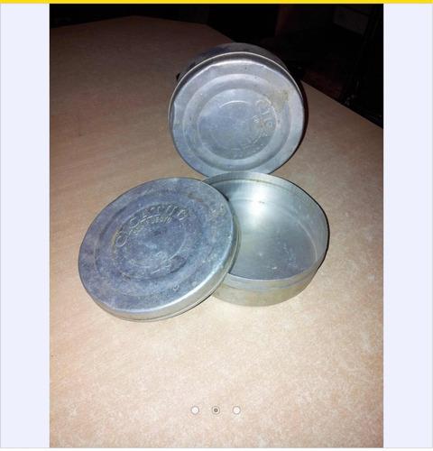antigua lata cicatul