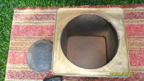 antigua lata de galletitas intervenida decoración cocina