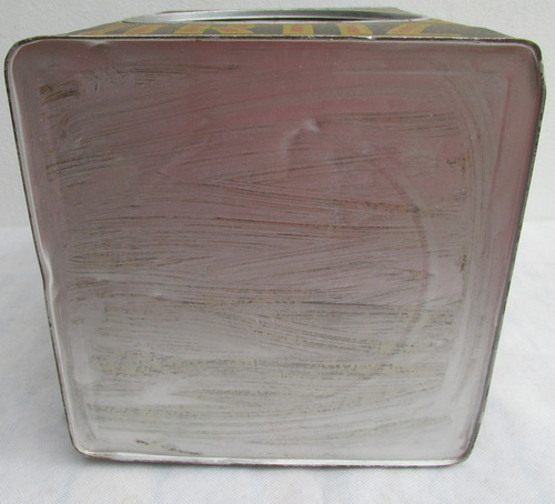 antigua lata de galletitas producto ortiz, pradymar,visor #l