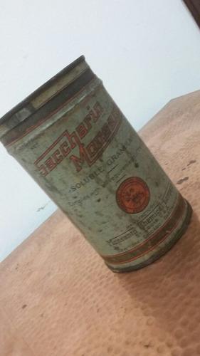 antigua lata de monsanto años 20 coleccionable muy rara!!
