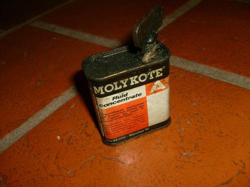 antigua lata latita de molikote
