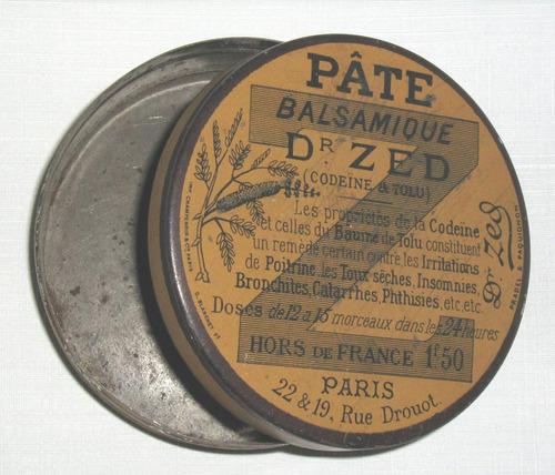 antigua lata  origen frances