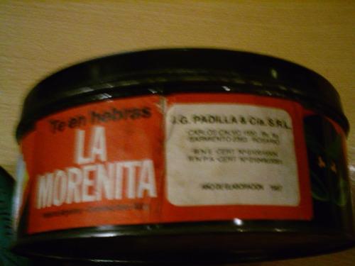 antigua lata te la morenita 1987