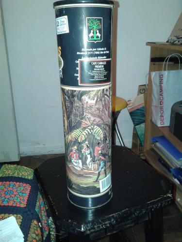 antigua lata vacia de cafe cabrales