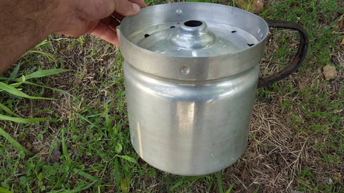 antigua lechera de aluminio de 4,5 litros n.20