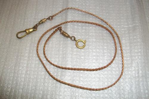 antigua leontina / cadena para reloj de bolsillo