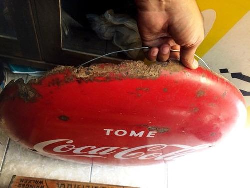 antigua letrero anuncio publicidad coca cola pepsi inca kola