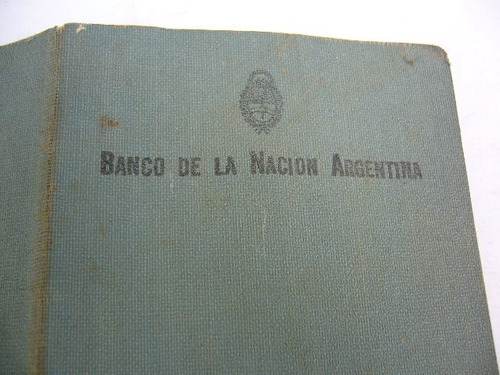 antigua libreta caja de ahorro banco nacion