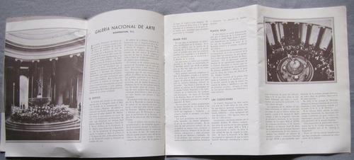 antigua libro guia de galeria nacional de arte usa