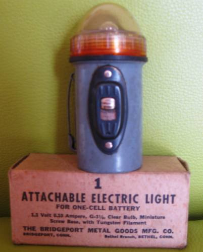 antigua linterna de la segunda guerra mundial