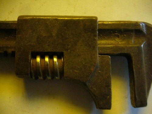antigua llave tipo francesa importada /1
