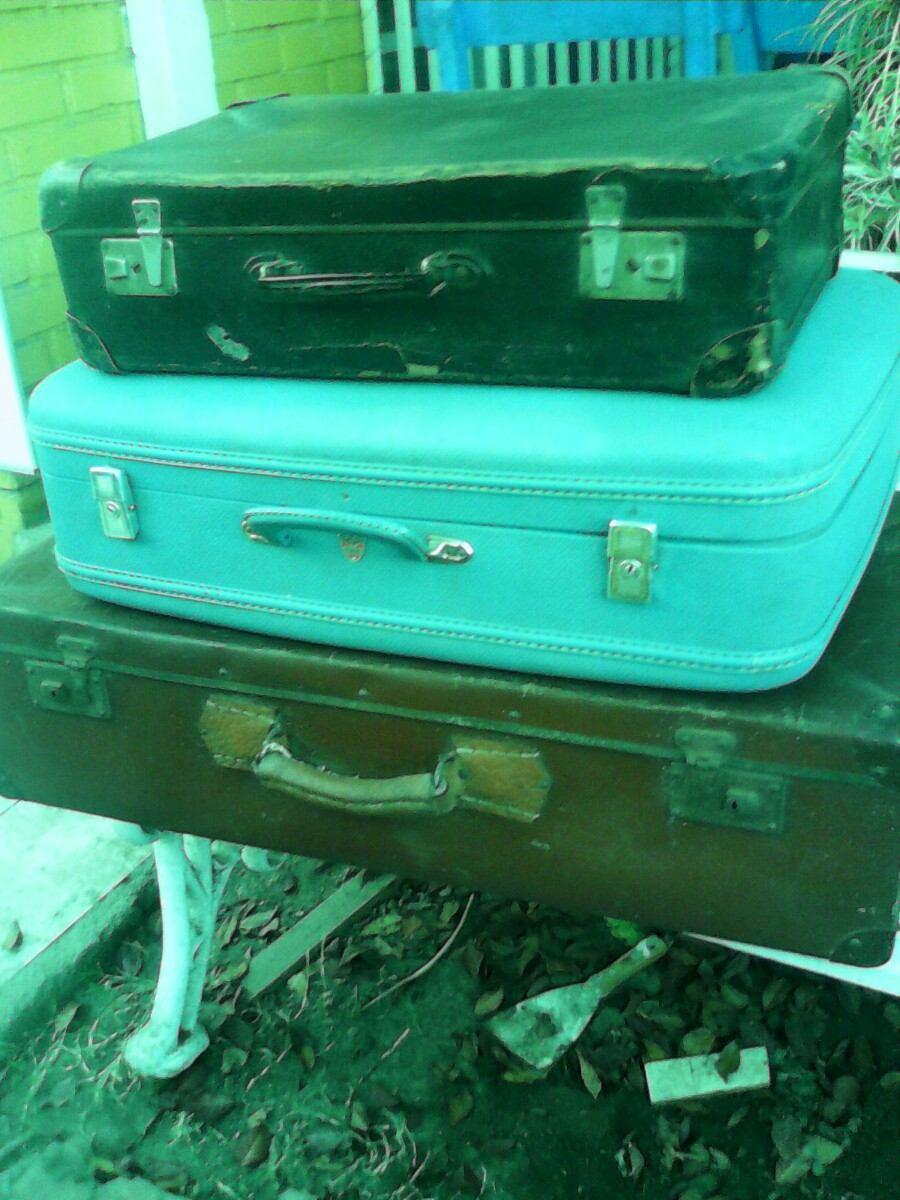 Antigua maleta de viaje para decoraci n en - Comprar maletas antiguas decoracion ...