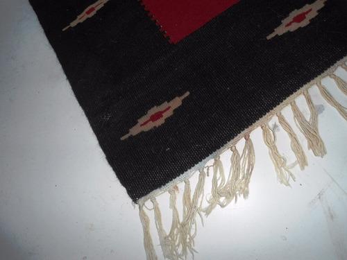 antigua manta alfombra norteña artesania (2274x)