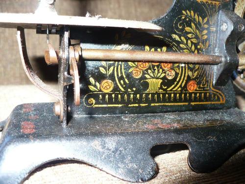 antigua máquina coser