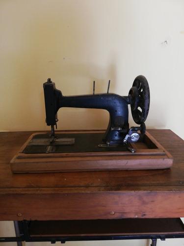 antigua maquina de coser, decoración