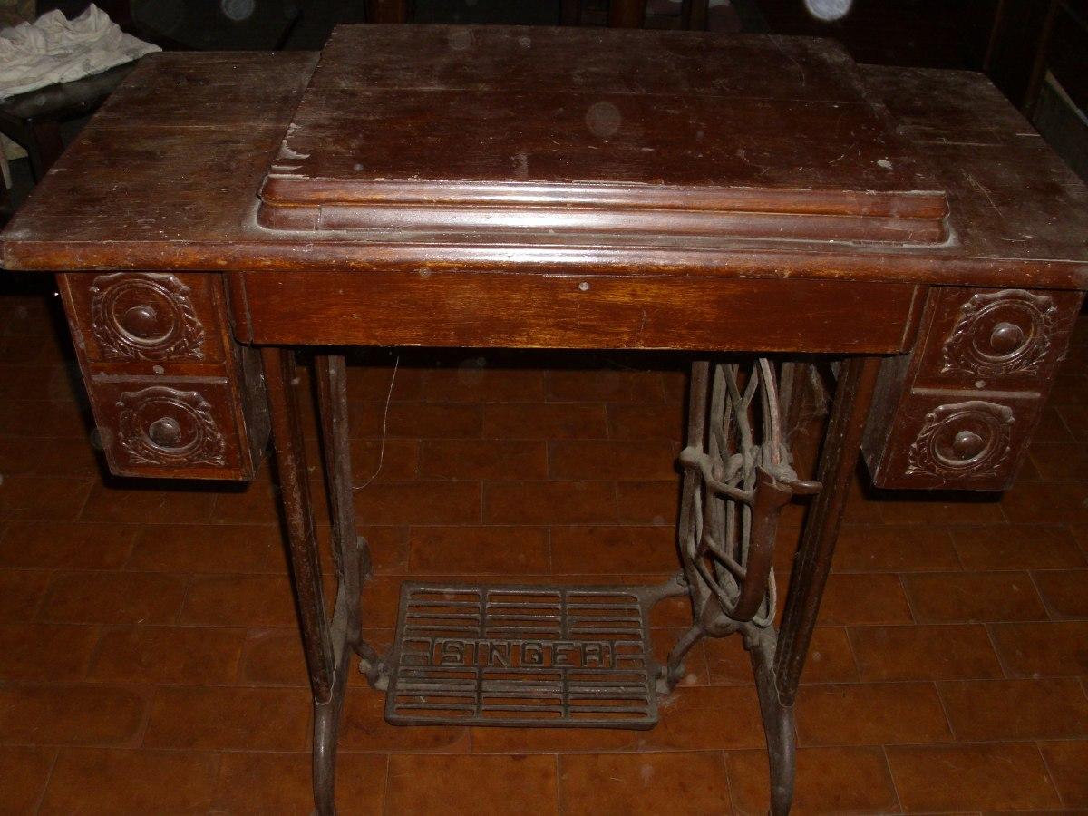Maquina De Coser Antigua Antig Edades En Mercado Libre Argentina # Muebles Maquina De Coser Segunda Mano