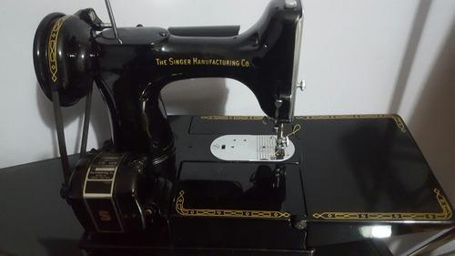 antigua maquina de coser y bordar singer 222.no 221